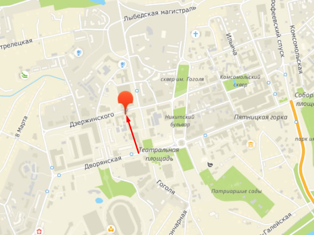 Региональный банк данных о детях, оставшихся без попечения родителей в Ленинском районе на ул.Дзержинского