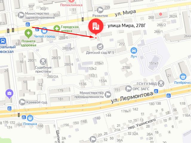 Ставропольский центр социальной помощи семье и детям в г. Ставрополь на ул. Мира