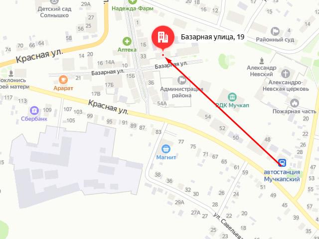 Центр социальных услуг (соцзащиты) для населения Мучкапского района в р.п. Мучкапский на ул. Базарная