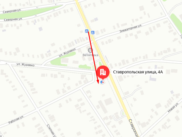 Кировский центр социального обслуживания (соцзащиты) населения в г. Новопавловск на ул. Ставропольская
