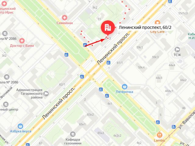 Управление социальной защиты населения Юго-Западного административного округа г. Москвы на Ленинском проспекте